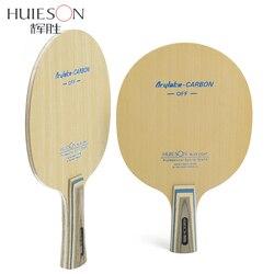 Huieson 7 Ply Arylate Carbon Faser Tischtennis Klinge Leichte Ping Pong Schläger Klinge Tisch Tennis Zubehör