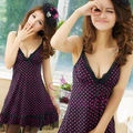 women sexy sleepwear sexy spaghetti strap nightgown summer lounge