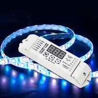 Freies verschiffen BC 834 Led DMX Controller DC12V 24 V DMX512 Decoder RGBW 4CH streifen licht LED Decoder Für SMD 5050 LED Band band|RGB-Controller|   -