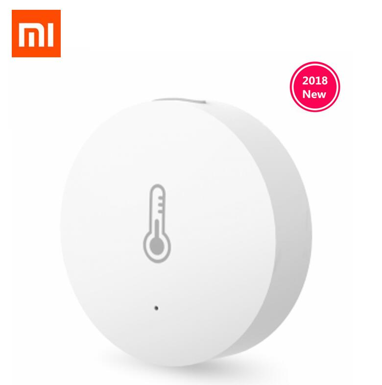 Xiaomi Temperature Humidity Sensor Zigbee Wireless Intelligent Mini Environment Detector For Smart Mi Home App Control 2019