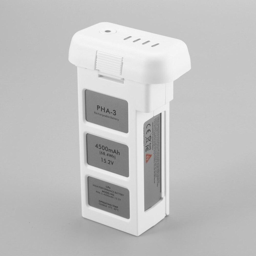 Batterie Drone pour DJI phantom 3 professionnel/3/Standard/avancé 15.2V 4500mAh LiPo 4S batterie intelligente jusqu'à 23 minutes