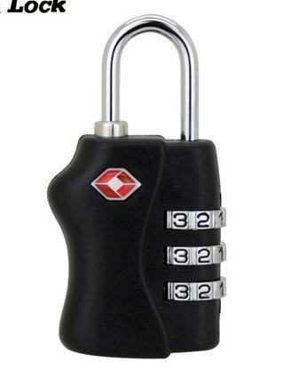 2016 Nova Segurança TSA 5 Dial Digit Combinação Viagem Bagagem Mala Código de Bloqueio do Cadeado de Senha Saco 5 Letra do Fechamento de Combinação