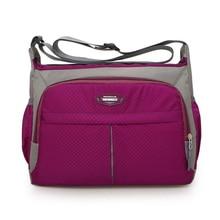 Women messenger bags shopping travel handbags Nylon ladies shoulder bags women handbag casual bag Preppy style waterproof bag недорого