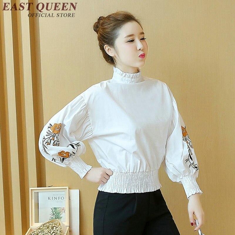 b408a79cd 2018 mulheres encabeça blusas novas mulheres da moda blusas de manga longa  roupas da moda china business casual roupas AA2050 W em Blusas   Camisas de  ...
