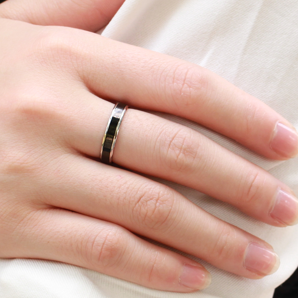 OPK 2018 New Fashion DIY Jewelry Stainless Steel Couple Ring Set For ...