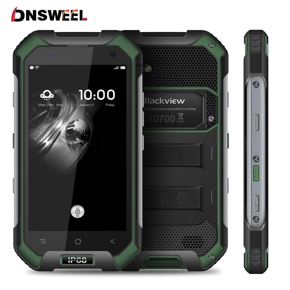 Original Blackview BV6000S Smartphone 4G Waterproof IP68 4 7 HD MT6737 Quad Core Android 6 0