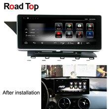 10.25″ Android 7 Octa 8-Core CPU 2+32G Car Radio GPS Navigation Bluetooth WiFi Head Unit Screen for Mercedes Benz GLK 2013-2015