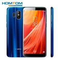 HOMTOM S7 5,5 18:9 ободок менее полный Экран 4 г мобильных телефонов 3 ГБ Оперативная память 32 ГБ Встроенная память MTK6737 спереди 8MP сзади двойной 13 + 2