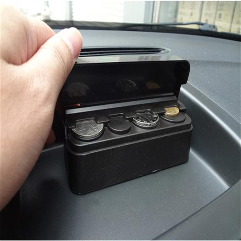 Wallet Organizer Holder Storage-Box Car-Coin-Case Piggy-Bank Money Change Loose High-Quality title=