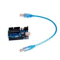 1Pc UNO R3 ATMEGA16U2 Development Board With USB Cable For Arduino New