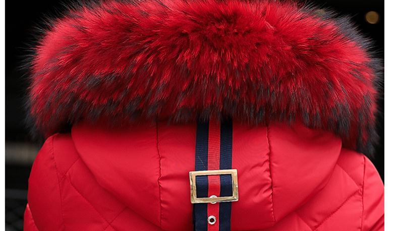 Femmes Rembourré Cultiver Longue Section Veste Green Noir rouge Envoyer rose De Coréen La Grand Col gris Livraison Dans 2018 Coton army Marée Nouveau Xq88Pg