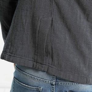 Image 4 - SIMWOOD di 2020 Autunno Casual Giacche Uomini Abiti Plaid di Modo Cappotti Tasca Singolo Pulsante 100% in Puro Cotone Slim Fit XZ6123