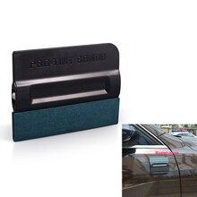 EHDIS Vinyl Carbon Fiber Film Car Wrap Magnetic Squeegee Scraper Window Tint No Scratch Suede Magnet Tools for Auto Car Styling недорого