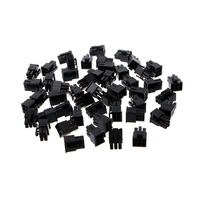50Pcs/Pack 4.2mm 6P 6 Pin Male Power Connector for PC Computer PCI-E Plastic Shell Connectors