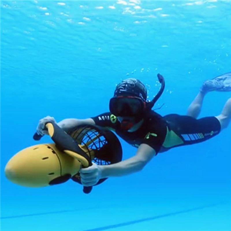 Diving equipment sea scooter speed up underwater ...