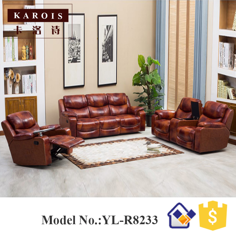 dubai living room furniture quotes for wall modern leather 3 seat recliner sofa in sofas from on aliexpress com alibaba group