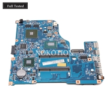 NOKOTION NB.M6W11.007 For Acer Aspire V5-571 laptop motherboard 48.4TU05.04M SR0XL I5-3337U 710m graphics touch screen