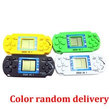Children Classical LCD Digital Gaming Machine Handheld Tetris Brick Sport Console Nice Christmas present for youths