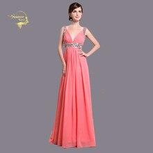 64dad400c Compra sexy coral formal gowns y disfruta del envío gratuito en ...