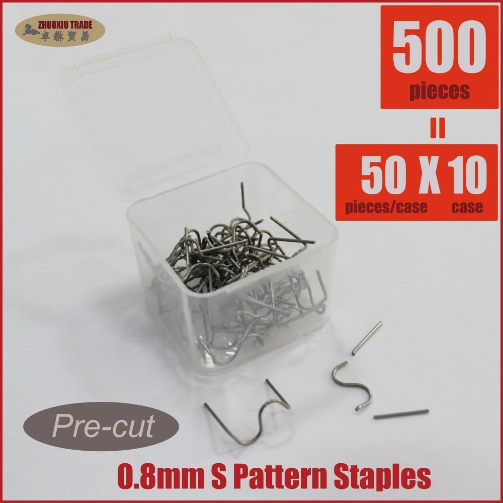 Hot Staples Pre Cut Plastic Stapler Repair Kits Welders 10x50pk  ST510-018PC comix durable 50 page 12 stapler w staples blue 3 pcs