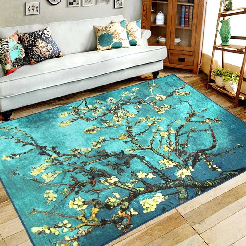 High Quality 133X190CM Abstract Painting Carpets For Living Room Home Bedroom Rugs And  Carpets Star Coffee Table Area Rug New Classical Mat In Carpet From Home U0026  Garden ...