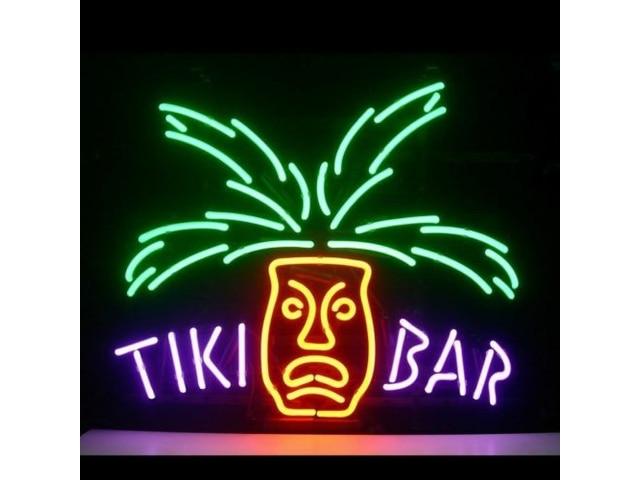 Tiki Bar verre néon signe barre de bière
