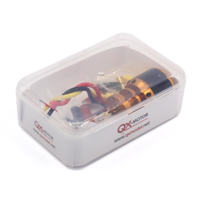 QX-MOTOR QF2611 3500KV /4500KV Brushless Motor 55mm/64mm Ducted Fan Jet EDF 3-4S Lipo for RC Airplanes F22139/40