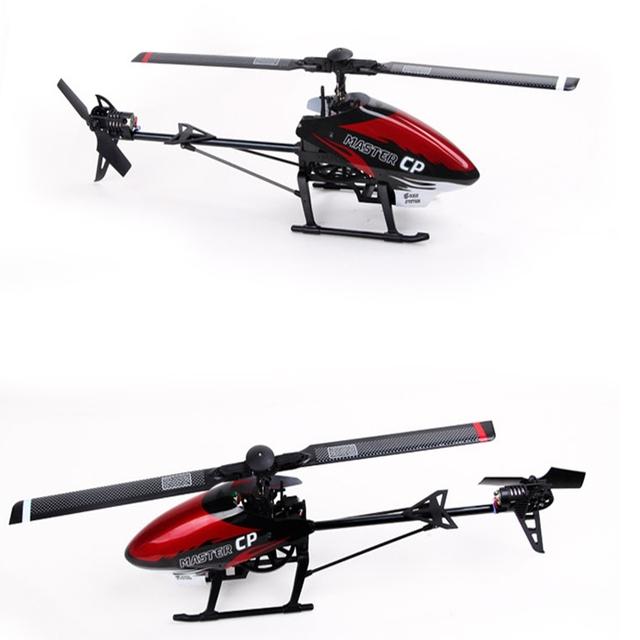 Walkera Maestro CP 6 Axis Gyro RC Helicóptero BNF Con DEVO 7 Transmisor