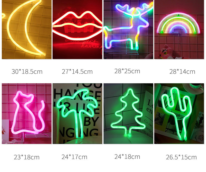 Creative Love in Heart Led Neon Sign Light for Holiday Xmas Party Wedding Decorations Bar Home Wall Decor Fashion Lighting (3)