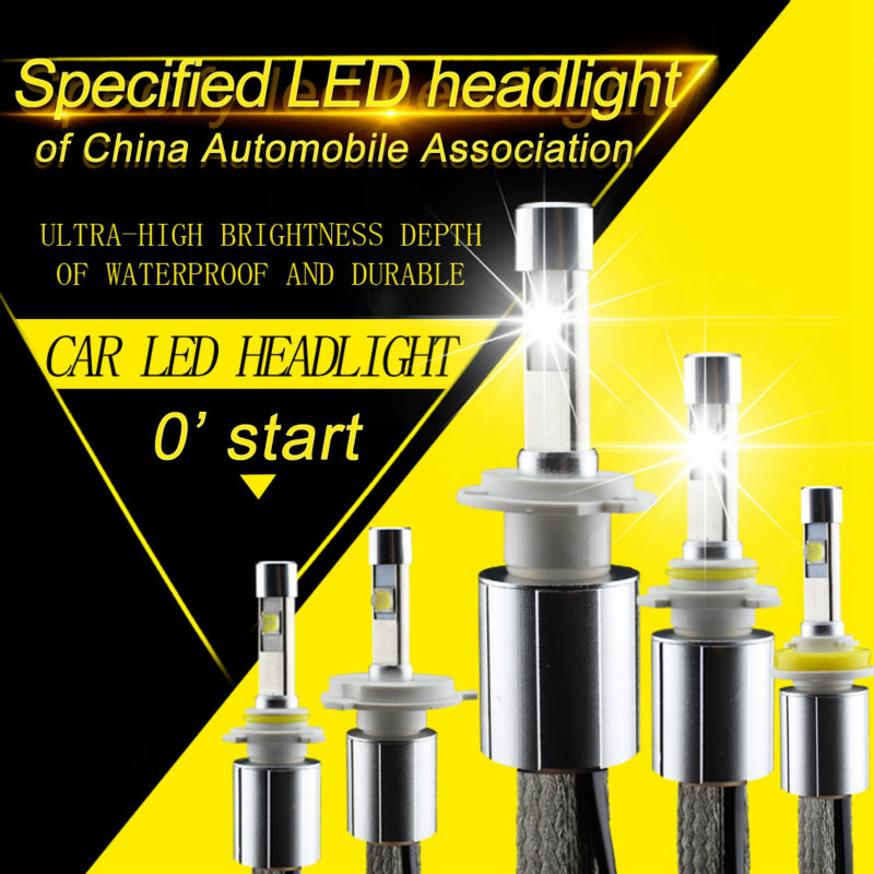 P70 LED Headlight XHP-70 chips 110W 13200LM 5000K 6000K Car Headlights H7 Conversion Kit H8 H9 H11 9005 9006 HB3 HB4 H4 Hi Lo