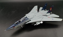 1:72 United States Air Force F14B VF-11 Red boar squadron Fighter bomber model  Collection model