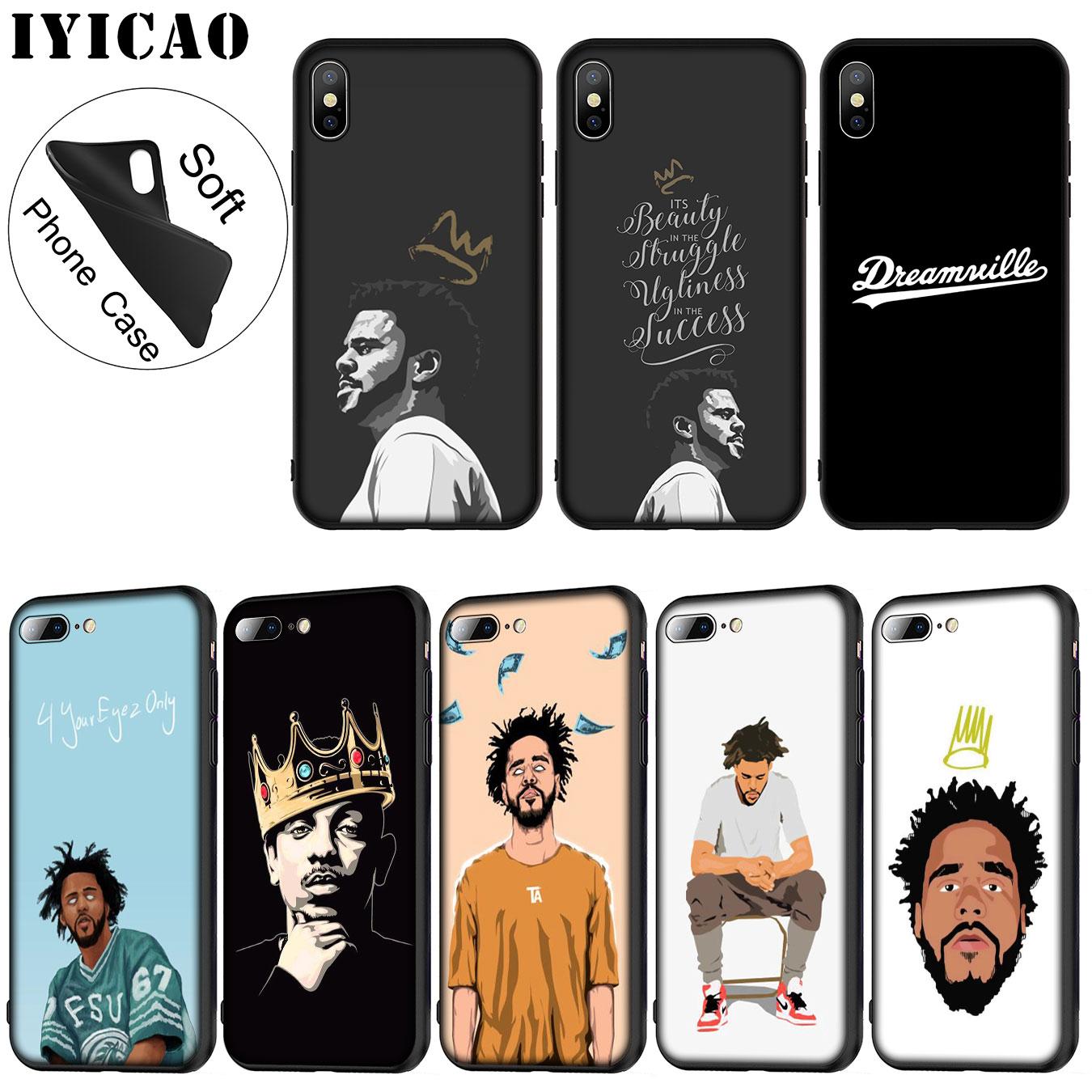 J Cole Dreamville iphone case
