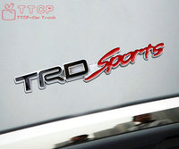 Free Shipping Metal TRD Sports Emblem Decal Badge Sticker For Supra MR2 Yaris