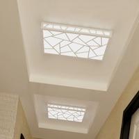 Modern ceiling lamps LED rectangular corridor lamp entrance foyer home lamp Ceiling Lights Simple rectangle LED balcony ZA