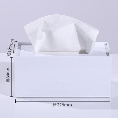 Мраморный узор, акриловая коробка для салфеток, креативный тканевый чехол для ванной комнаты, украшение для гостиной, держатель для бумаги в скандинавском отеле
