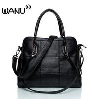 WANU Women Shoulder Bag Denim Bag With Scarf 2016 Women S Handbags Messenger Bags Designer Crossbody