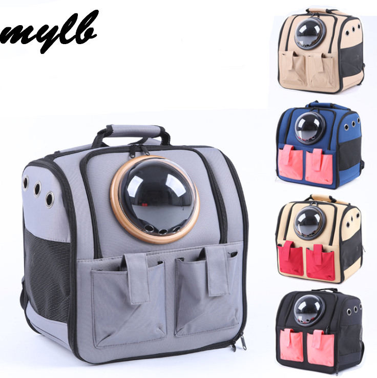 mylb The capsule bag carrying pet cat breathable outdoor portable packaging bag dasyure pets puppy travel