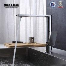 360 вращающийся Chrome Современная кухня смесители Бассейна раковина латунь спрей кухонный смеситель водопроводной воды Кран Латунный Кухня MJF201071