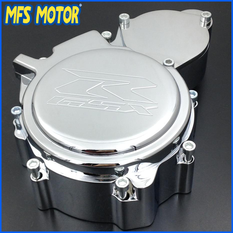 Freeshipping Motorcycle Left side Engine Stator cover For Suzuki GSX-R GSXR600 600 750 2006-2013 CHROME freeshipping motorcycle left side engine stator cover for suzuki gsx r gsxr600 600 750 2006 2013 chrome