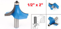 1pcs Straight Shank Corner Round Over Router Bit Hand Tool 1 2 X 2 For Woodworker