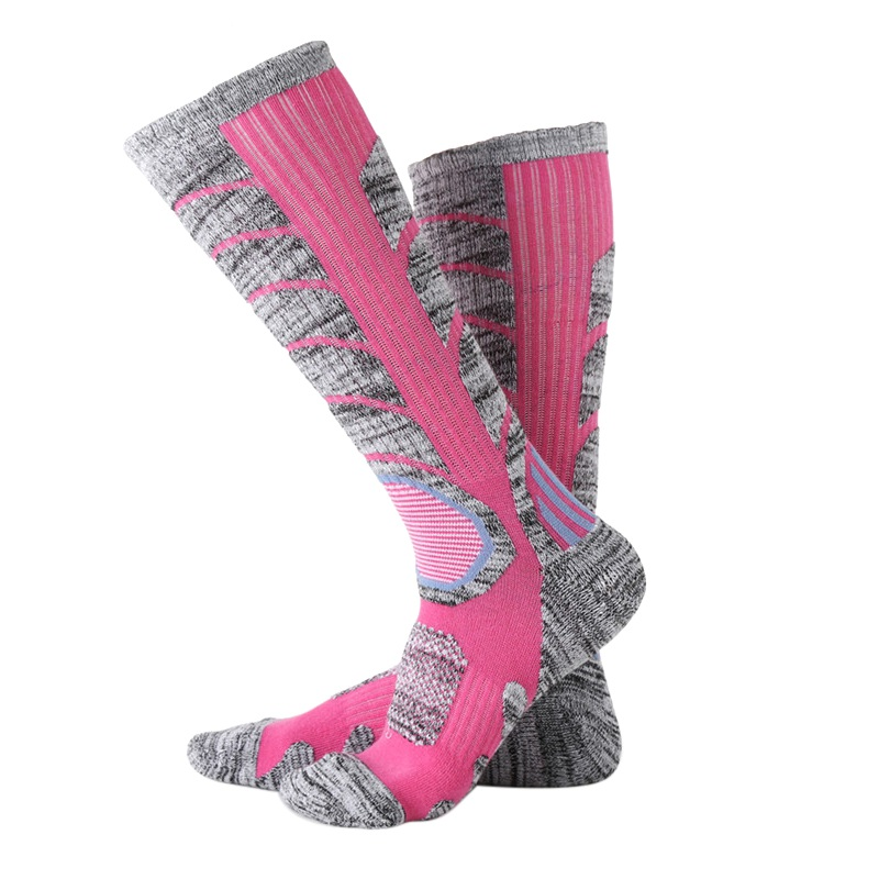 2018 New Men & Women Long Running Cycling Fishing Socks Compression Socks Outdoor Sports Ski Running Soft Knee-High Socks