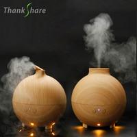 600ml Essential Oil Diffuser Aroma Diffuser Ultrasonic Humidifier Mist Maker Aromatherapy Air Purifier Woodgrain