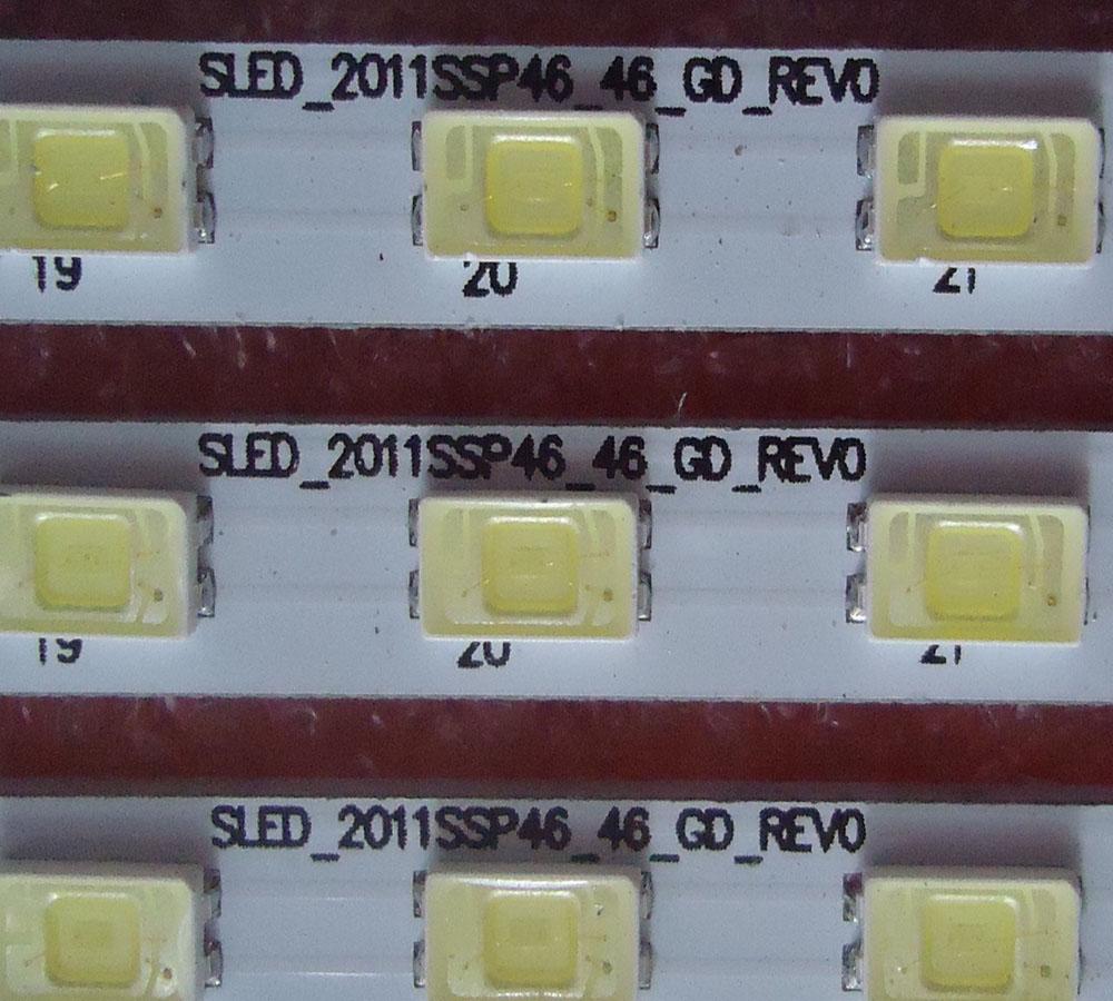 LCD-46LX530A 46LX830A 430A TV LED Backlight SLED_2011SSP46_46_GD_REV0 1 piece 46LED 522mm