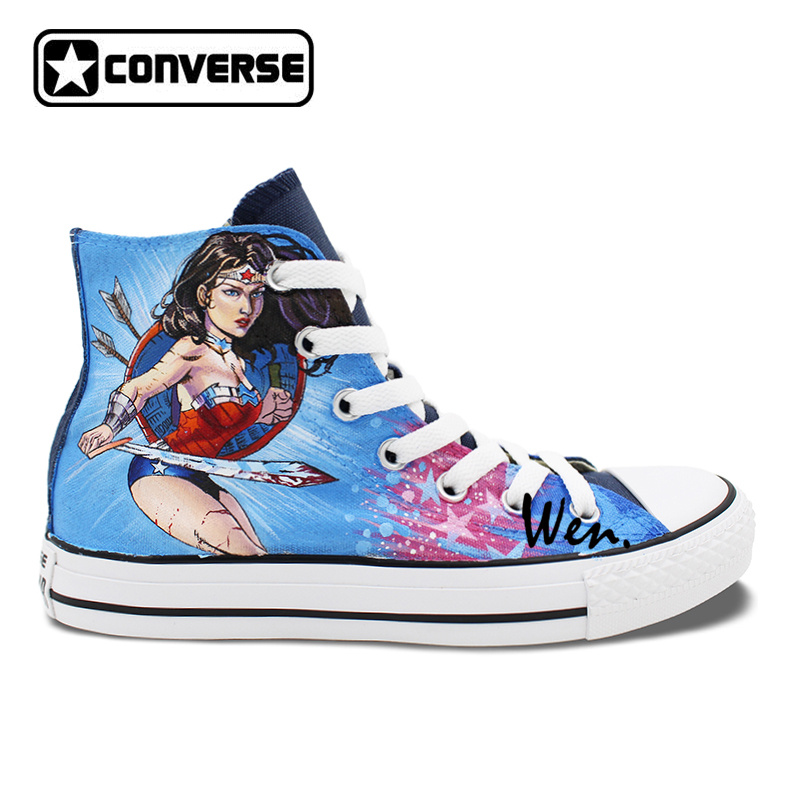 wonder woman converse sneakers