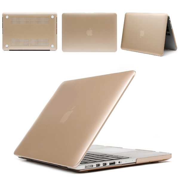 quality design 0bc5b e3d77 US $13.19 |2015 Hot Sale Metal Gold Ultra Slim Hard Cases For Macbook Pro  13 15 Inch With Retina Cover For Mac Book Latop Bag Case Shell-in Laptop ...