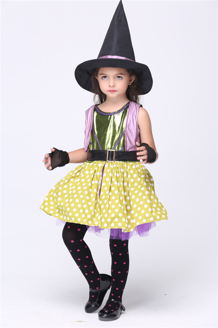 Halloween Costume Witch Girl Promotion-Shop for Promotional ...