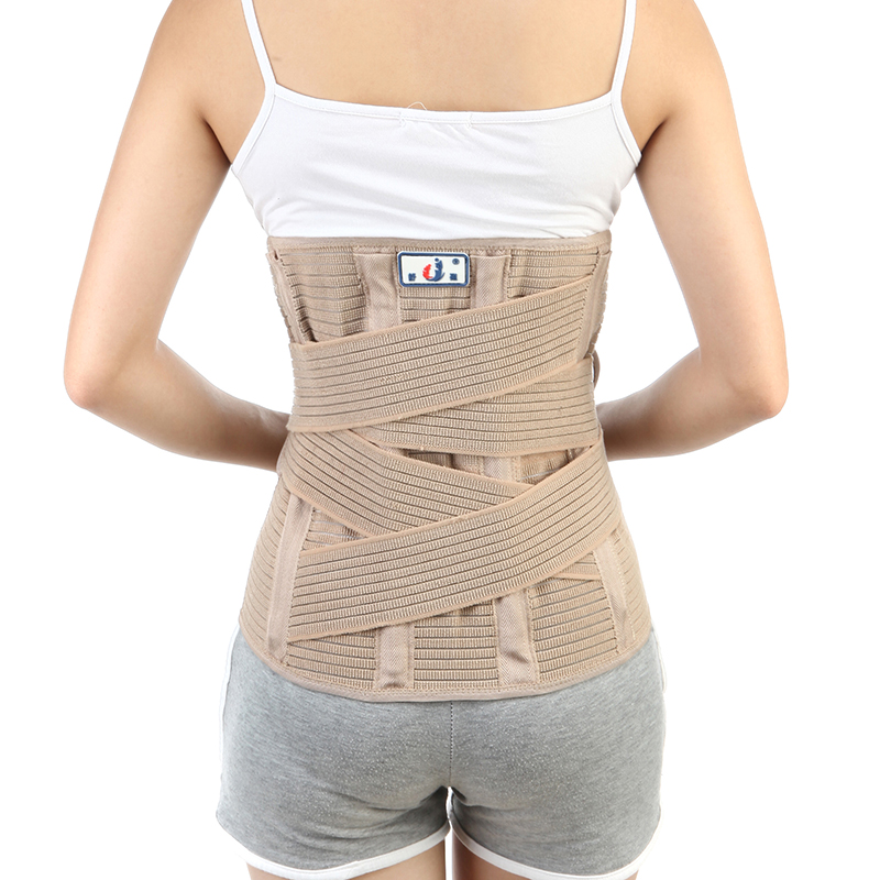 Slim Waist Support Belt Lumbar Back Support brace Fitness Slimming Belt Waist Trainer Sports Exercise Pain Relief CorrectorYW02k