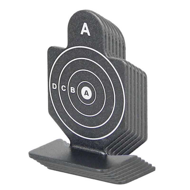 6pcs/lot Shooting Target 64x44x20mm Black for Airsoft Hunting paintball ht226