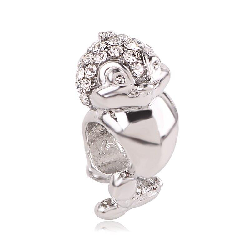Новинка,,, бусинка из ленты, Микки Маус, сказка, Дамбо, любовь, шарм, подходит для Пандоры, браслет, ожерелье, сделай сам, женское ювелирное изделие, подарок - Цвет: K206