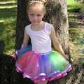 Kids Baby Girl Tutu Party Skirts Ballet Dance Wear  Skirt Pettiskirt Costume BV